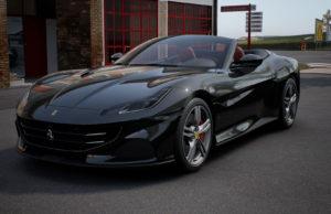 Nero Daytona/Rosso Ferrari